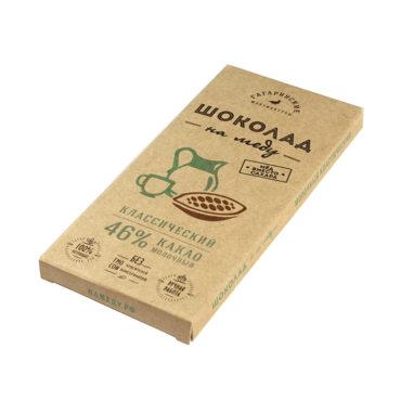 Шоколад На Меду молочный 46% какао Классический 85г