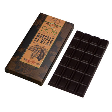 Шоколад На Меду «Премиум» горький 90% какао Экстра 70г