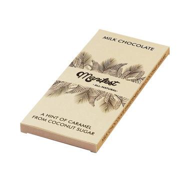 "Шоколад молочный ""MANIFEST"" на кокосовом сахаре 70г"