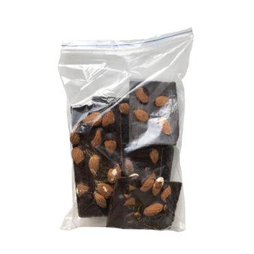 Шоколад На Меду горький 70% какао С Миндалем ЛОМ 250г
