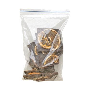 Шоколад На Меду молочный 46% какао Дольки Апельсина ЛОМ 250г