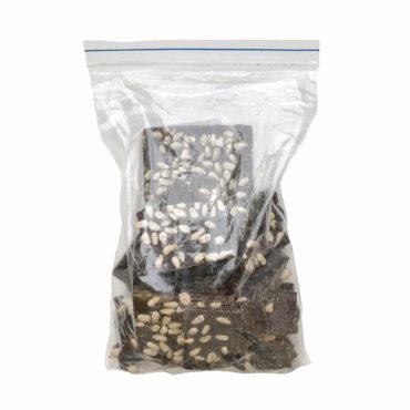 Шоколад На Меду молочный 46% какао С Кедровым Орехом ЛОМ 250г